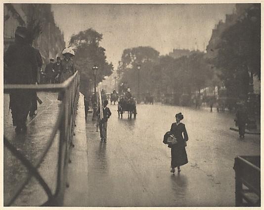 A Snapshot, Paris Alfred Stieglitz (American, Hoboken, New Jersey 1864–1946 New York)