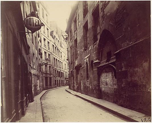 Hotel de Sens, rue de l'Hôtel de Ville, Paris Eugène Atget (French, Libourne 1857–1927 Paris)