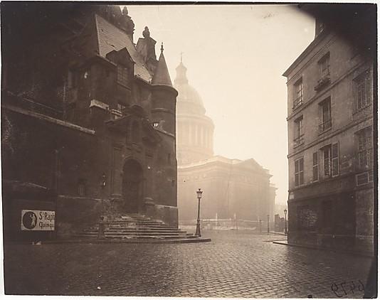 Rue de la Montagne-Sainte-Geneviève Eugène Atget (French, Libourne 1857–1927 Paris)